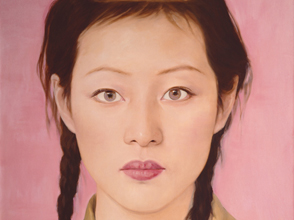 "Qi Zhilong. ""Girl 1"", 2007. Oil on canvas. Courtesty of AW Asia."