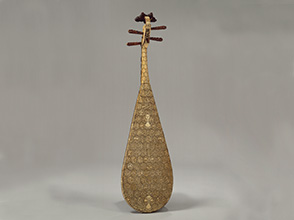 Pipa; China, Ming dynasty (1368–1644), late 15th or early 16th century. Courtesy of The Metropolitan Museum of Art.